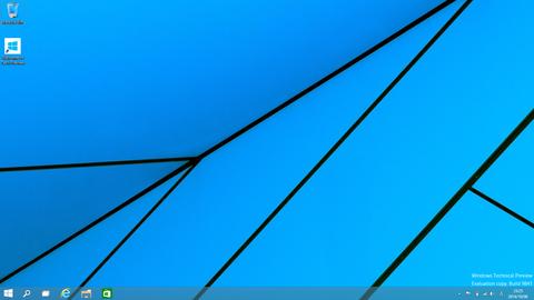 Windows10のデスクトップ画面です。