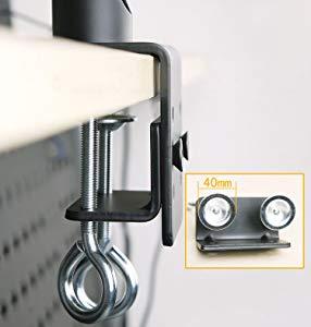 対荷重:合計40Kgまで(各10Kgまで)  対応モニター:VESA規格に対応するモニターのみ使用できます