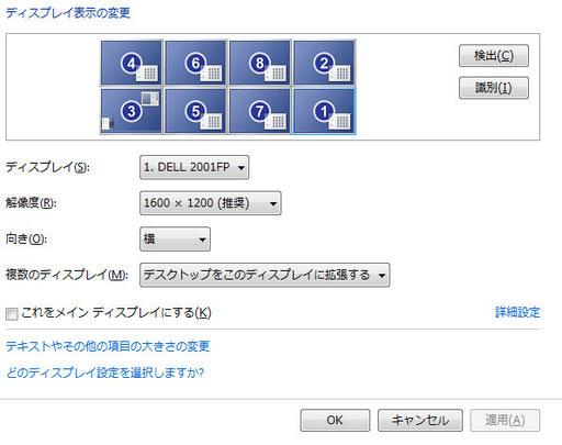 トレードPCの位置合わせ設定方法 この配置(メモの配置)になったら完了です。