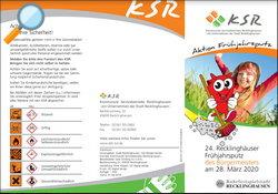 Flyer - Frühjahrsputz Recklinghausen - Lokale Agenda 21 Recklinghausen