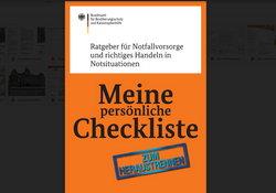 Ratgeber für Notfallvorsorge richtiges Handeln in Notsituationen -Checkliste - Lokale Agenda 21 cr