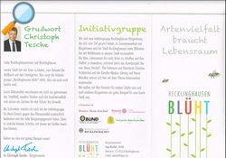 Flyer - Recklinghausen BLÜHT - Lokale Agenda 21 Recklinghausen