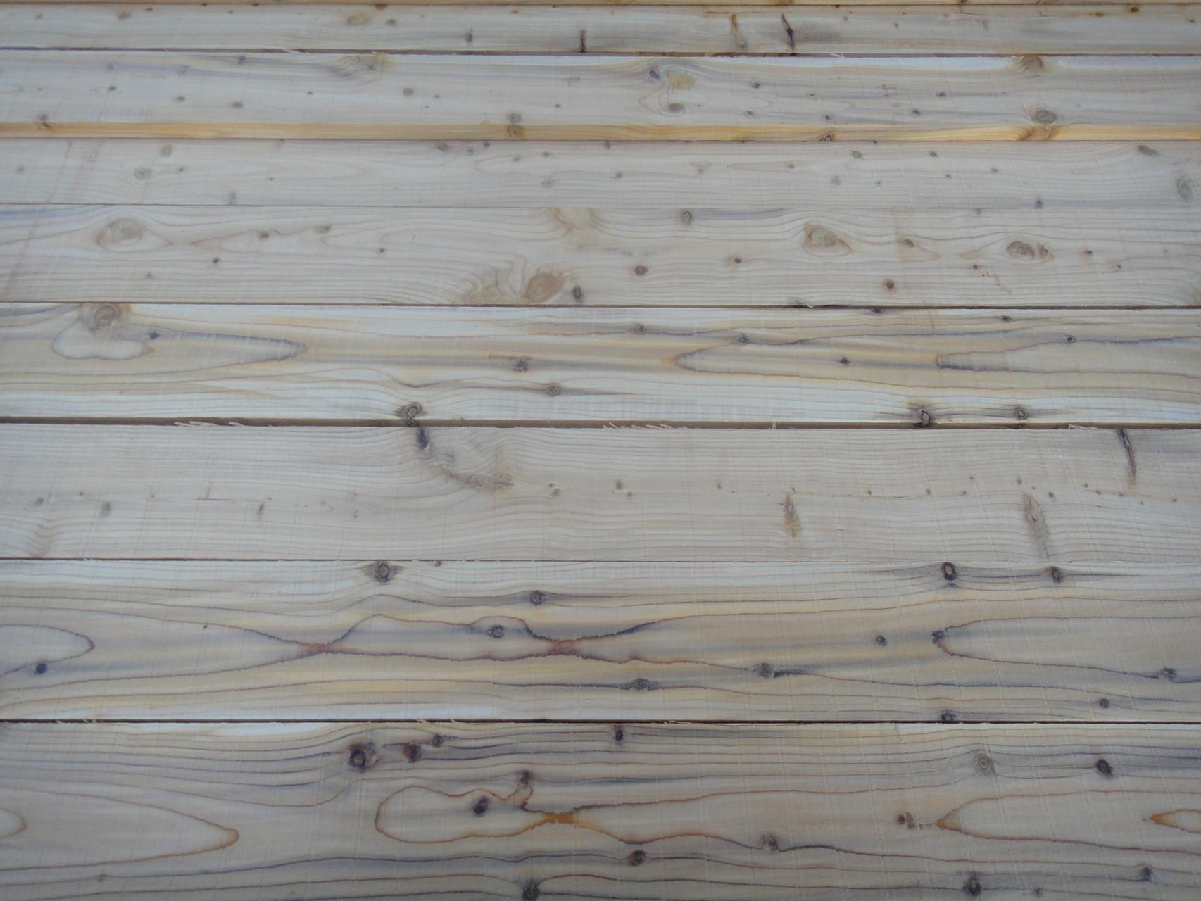 Planches de cèdre