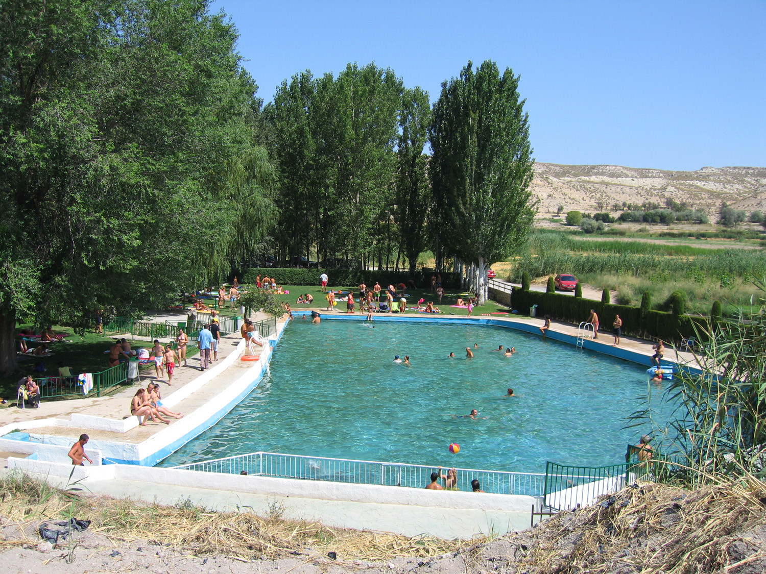 Natural warm wate pool Orce