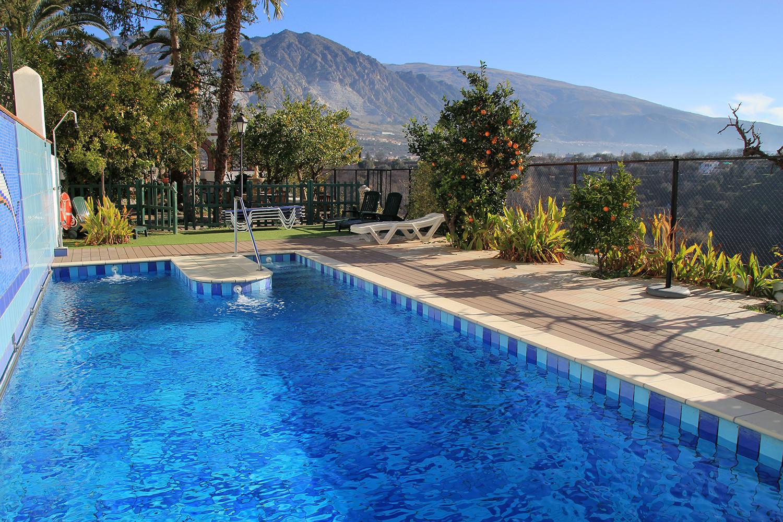 The communal swimming pool