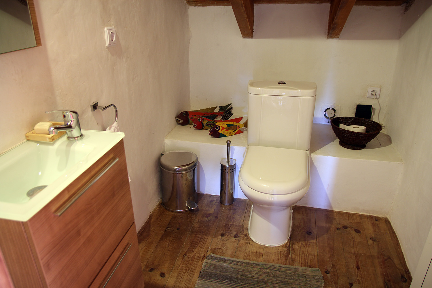 The toilet (first floor)