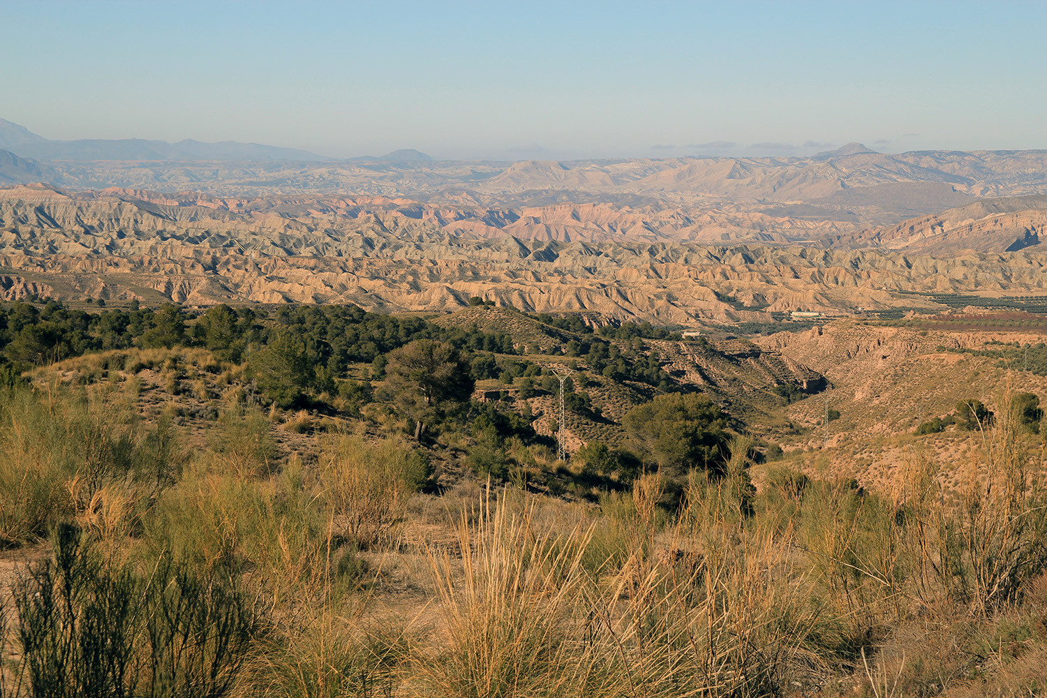 "A View on the ""Desert"" from Bócar"