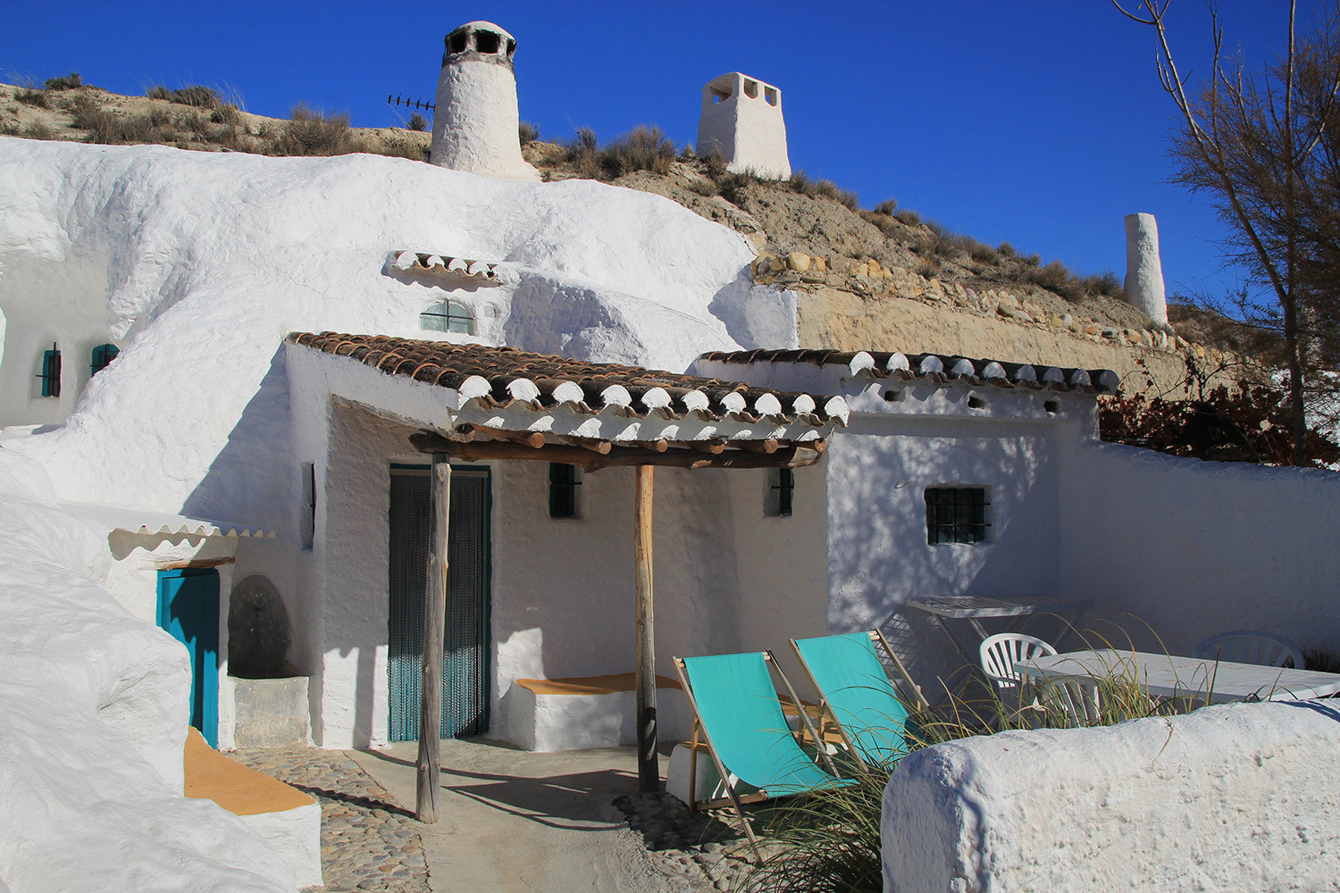 A Renovated Cave House in Baza