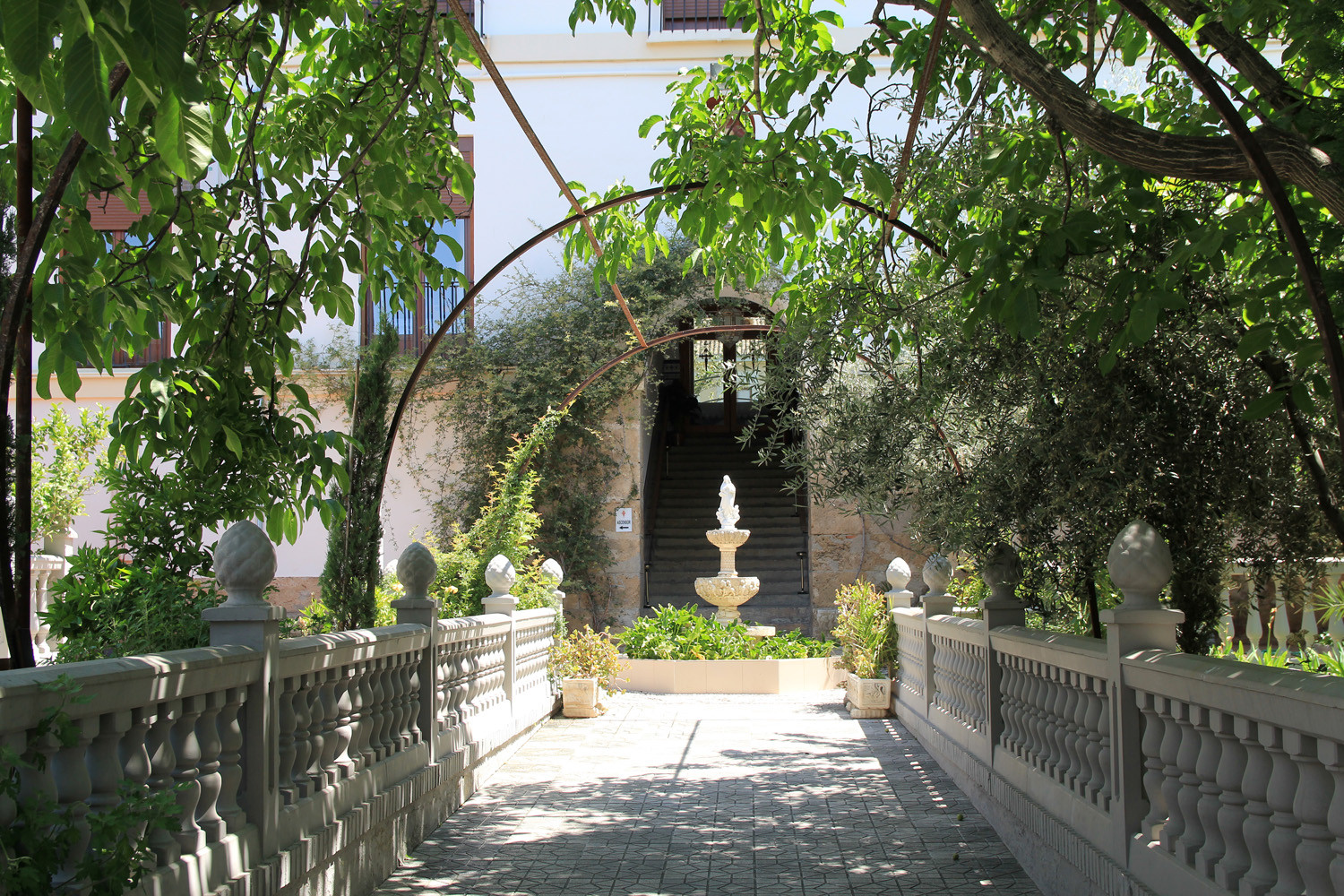 The entrance to  the convent