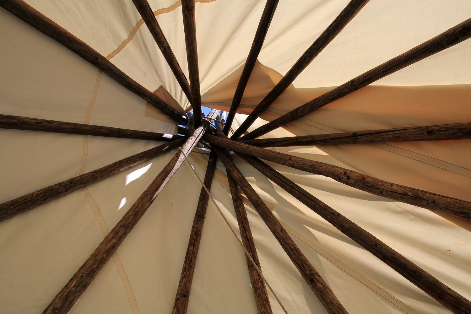 Detail of the Teepee