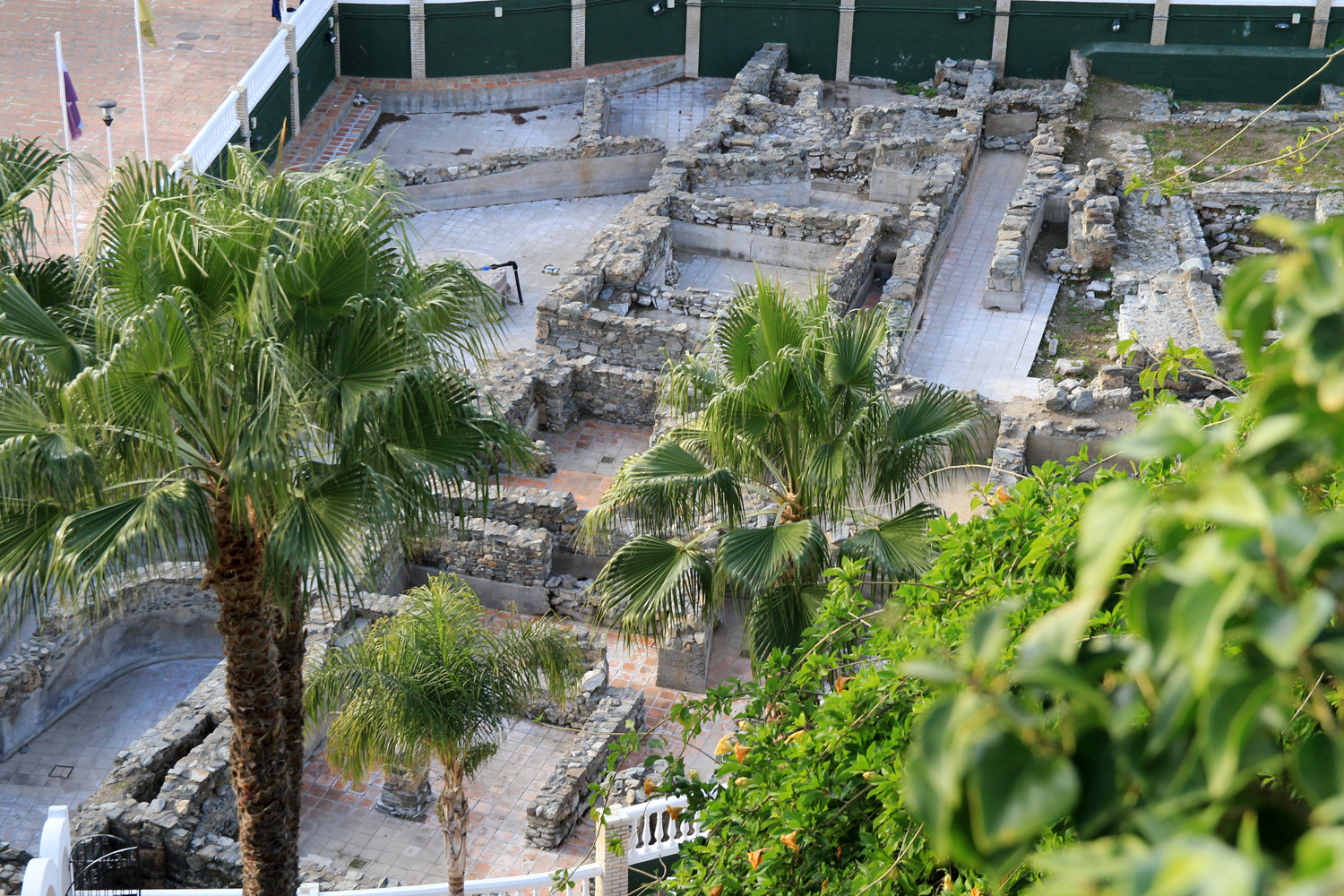 The Ruins of a Roman Salted Fish Factory - Almuñecar