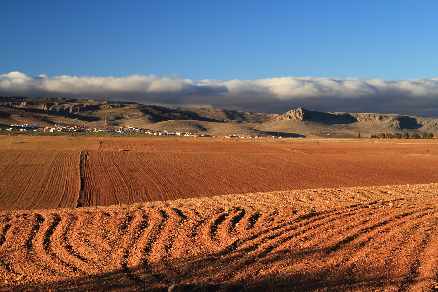 The Red Countryside near Guadix