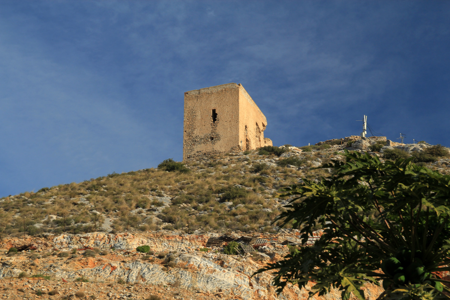 The Roman Tower of Castell de Ferro