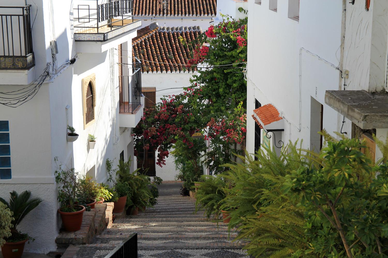 A Street in Salobreña
