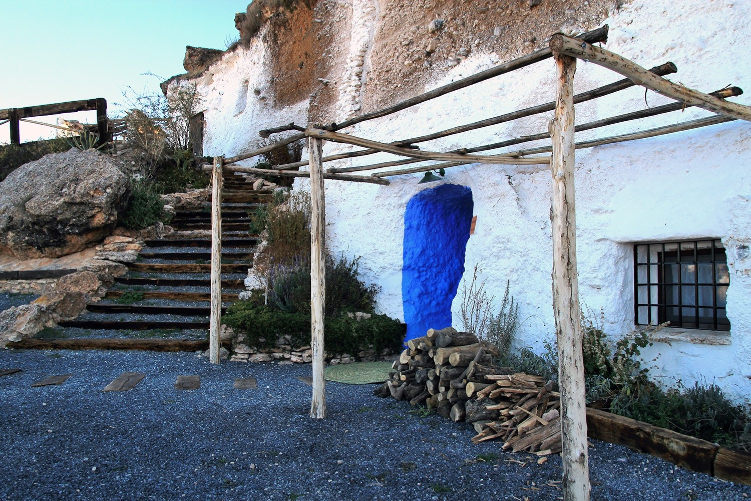 Front view of cave house 3