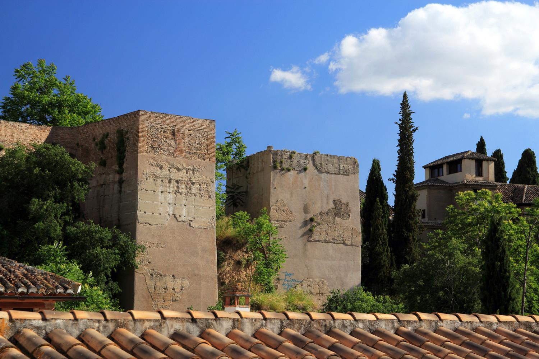 City Wall Alcazaba Cadima  (Albaicin)