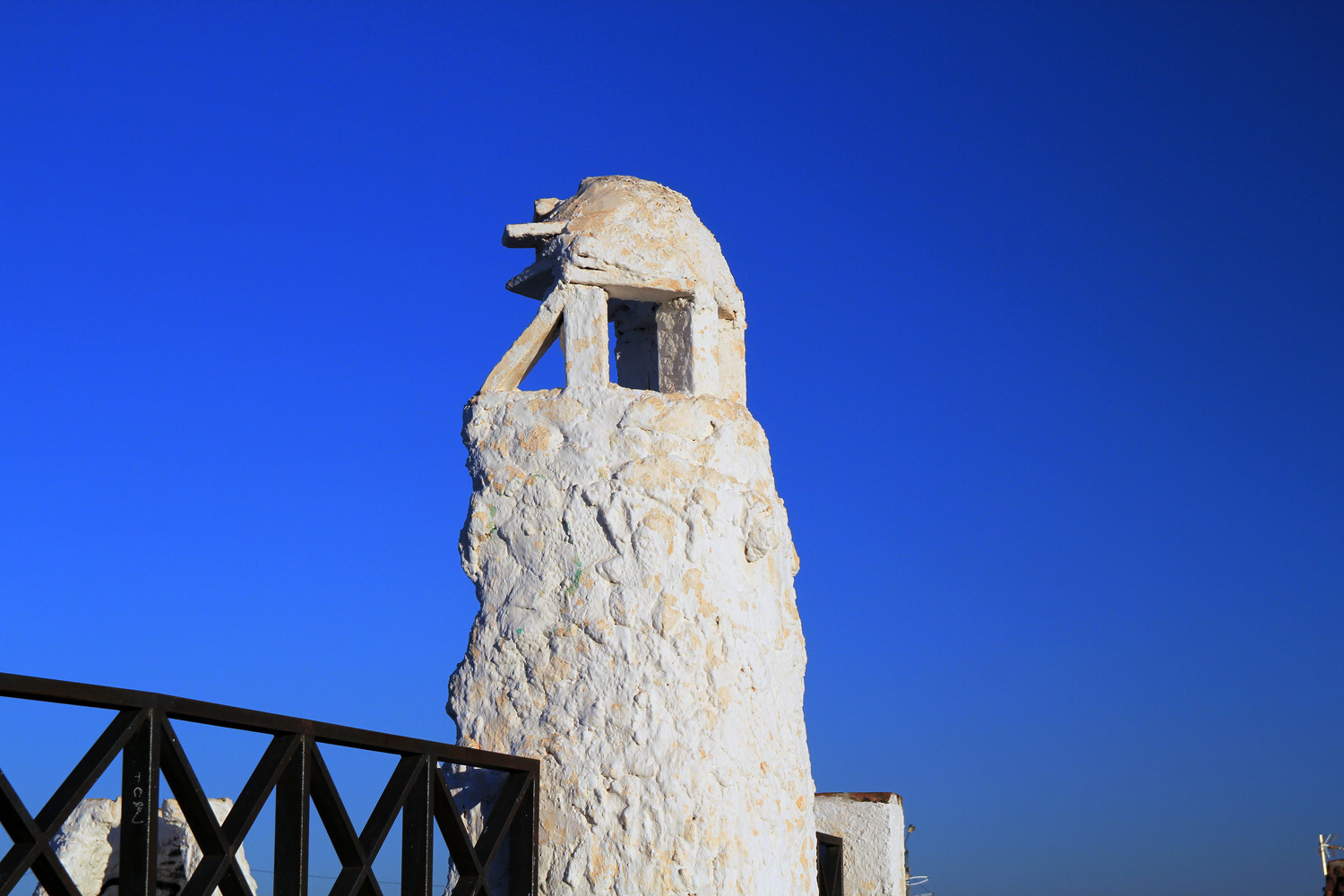 A Typical Chimney of a Cave House in Guadix