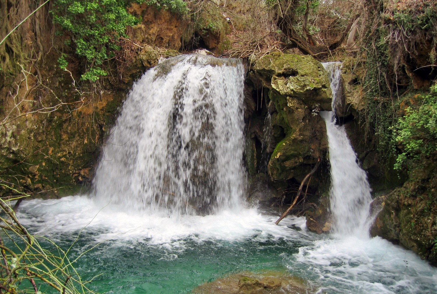A Waterfall in the Buitre Canyon - Huéscar