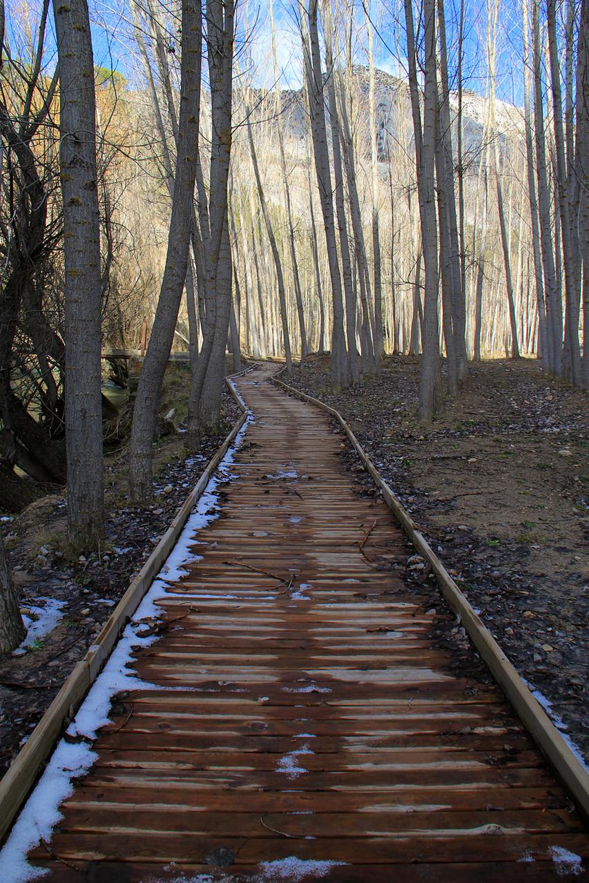 Trail near Punete de Lézar