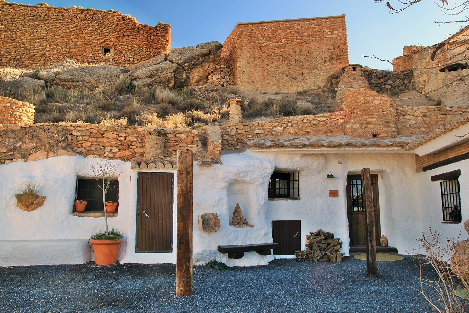 Restored Cave Houses in Los Balcones