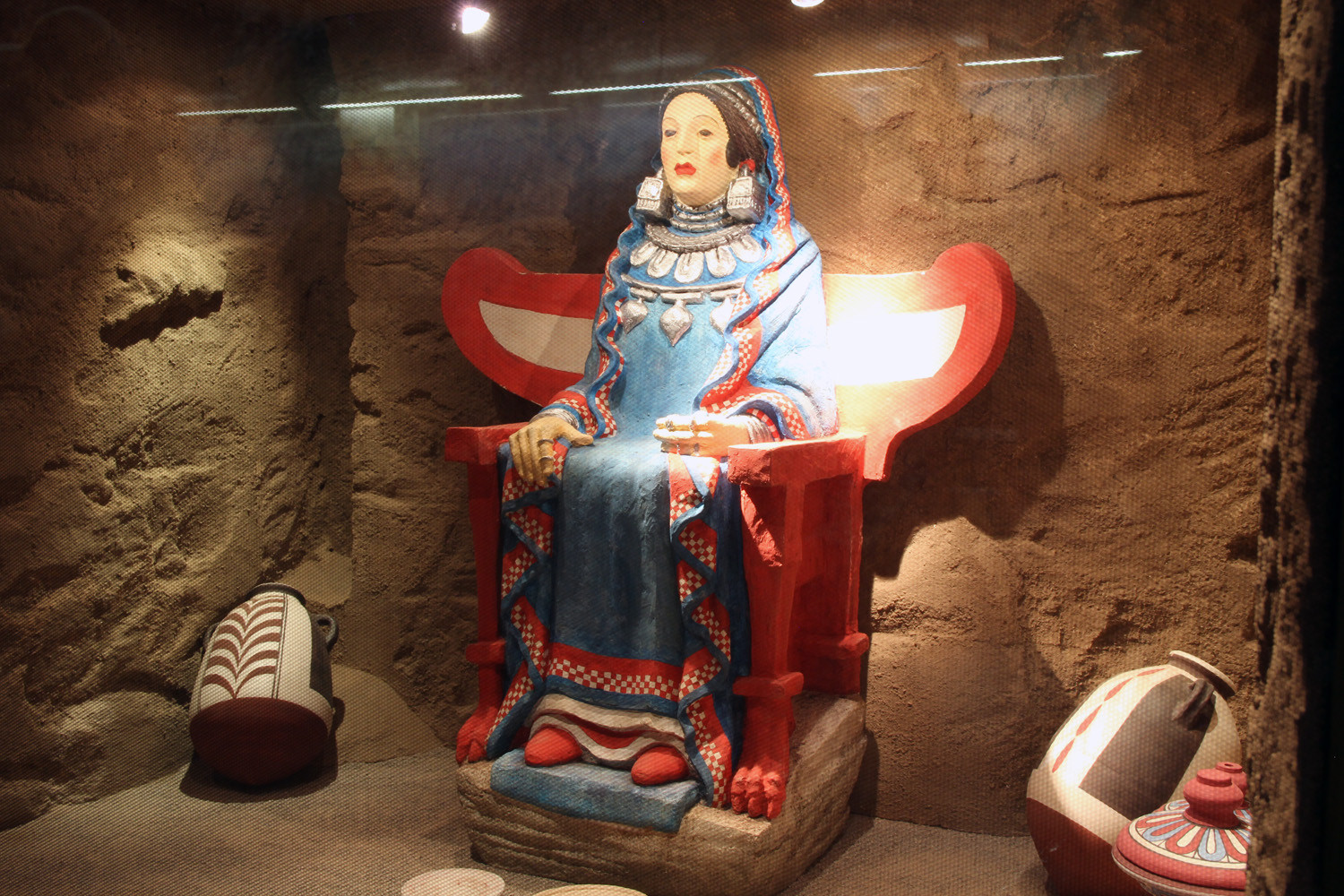 La Dama de Baza  (an Iberian sculpture of 400 BC)