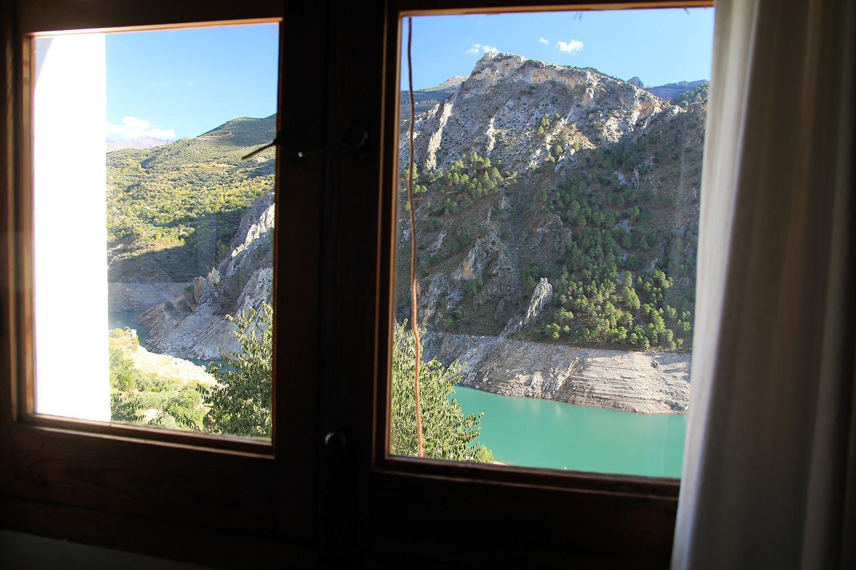 View from bedroom 1 (1ste floor)