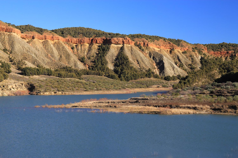 The Lake Francisco Albéllan near Guadic