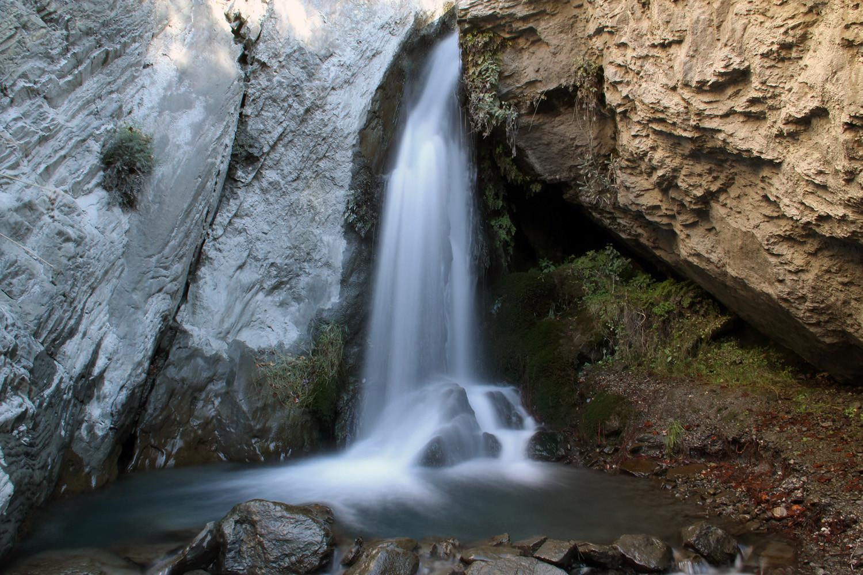 Waterfall River Nigüelas (Sierra Nevada)