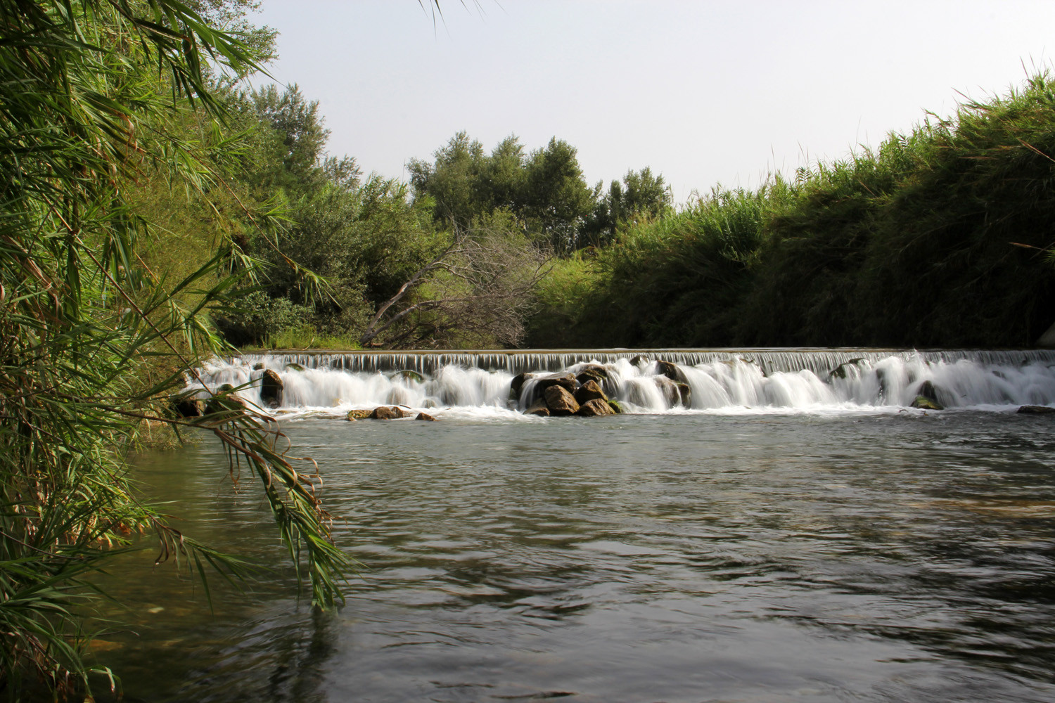 Waterfall in the River Río Guadalfeo