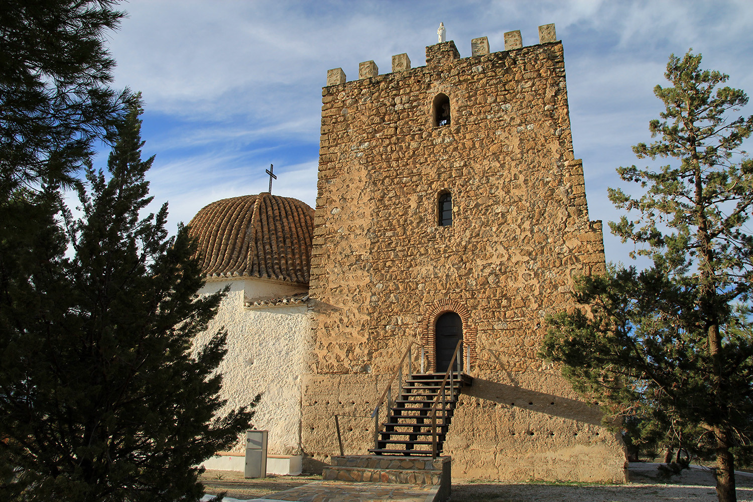 The Arabic Tower in Cúllar