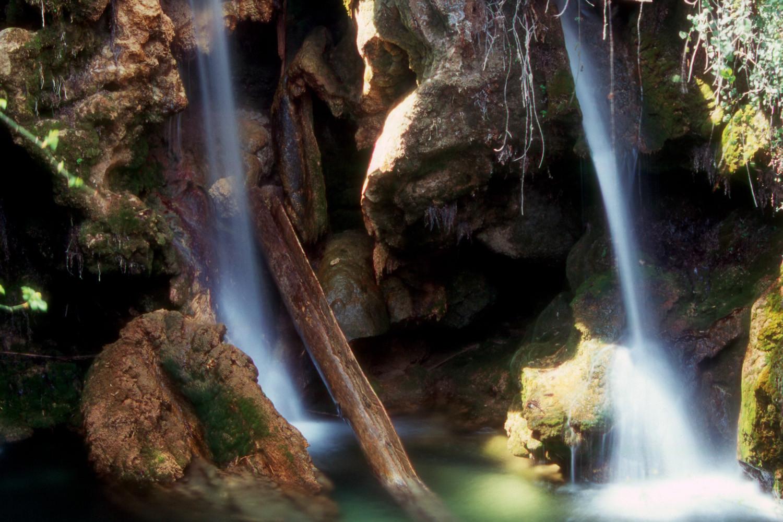 Waterfall at Sierra Seca