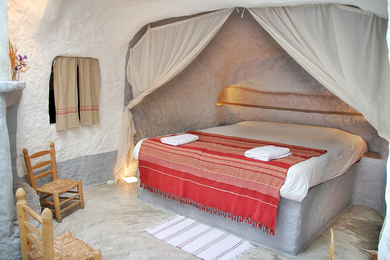 A Cave Bedroom