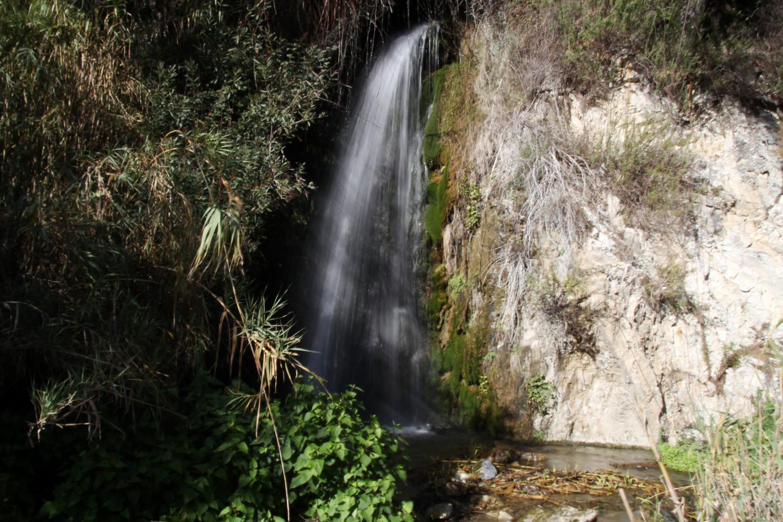 Waterfall near the picnic area in Guarjar Alto