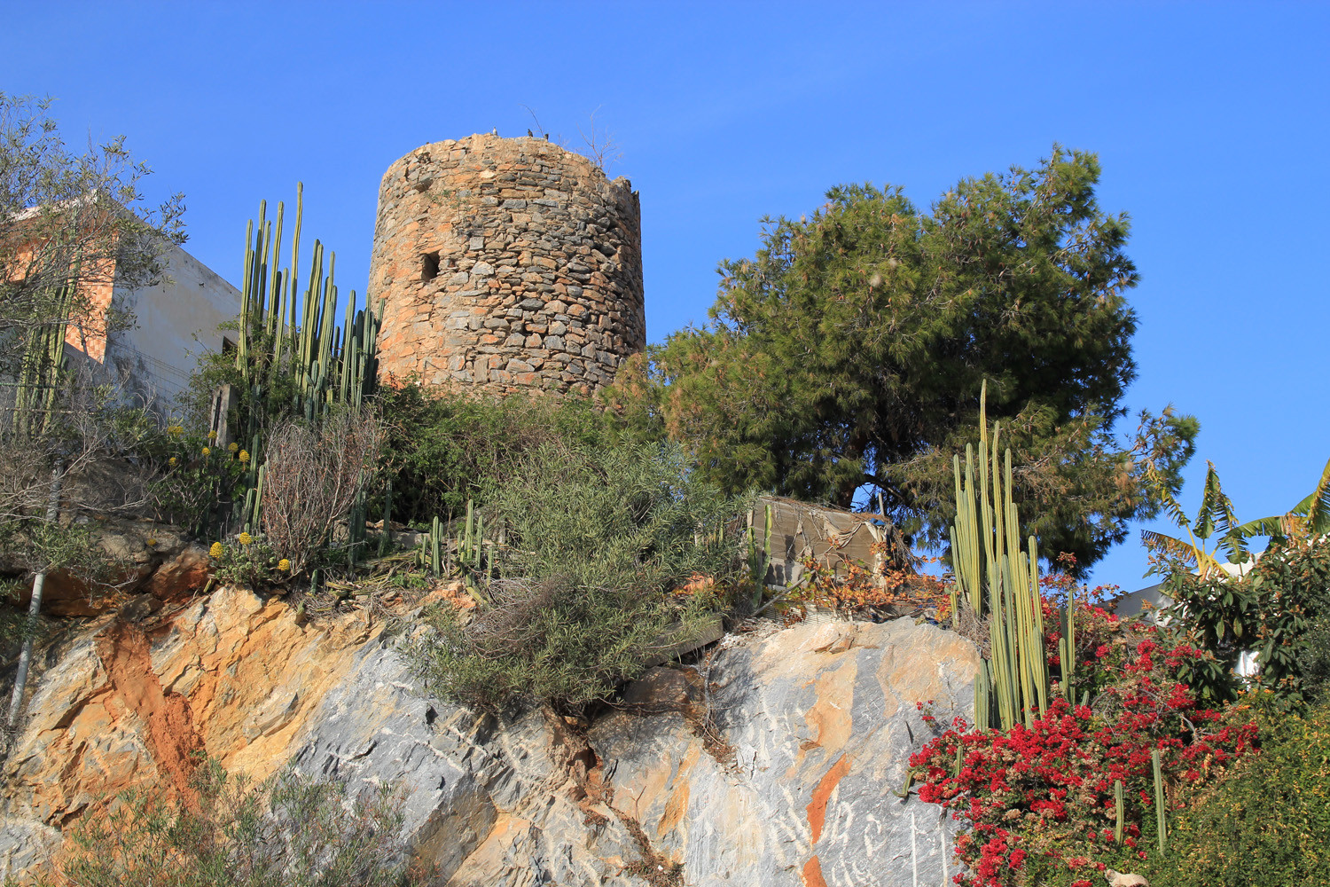 An Arabic Watchtower in Castell de Ferro