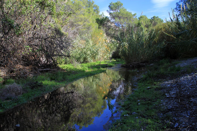 River near the picnic area in Guarjar Alto