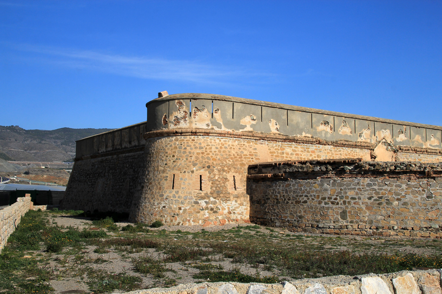 The Fortress in Carchuna