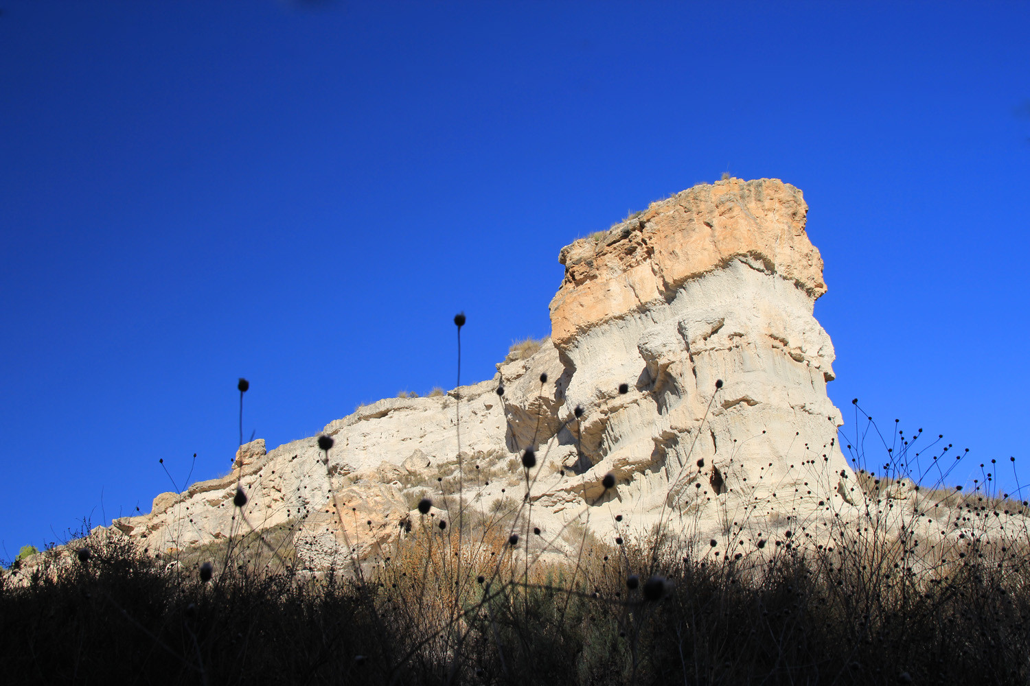A Rock Formation near Fondales