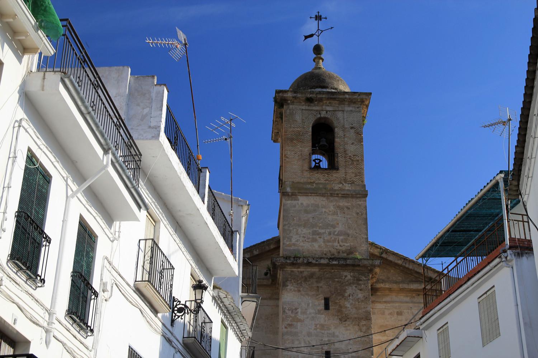 The Church of Algarinejo
