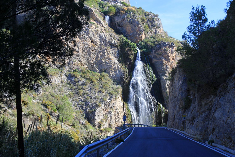 A waterfall near Guarjar Alto