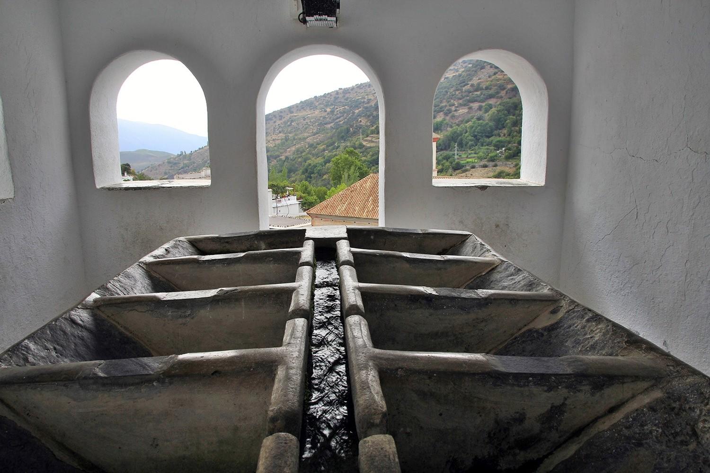 The Washing Sinks in Pampaneira
