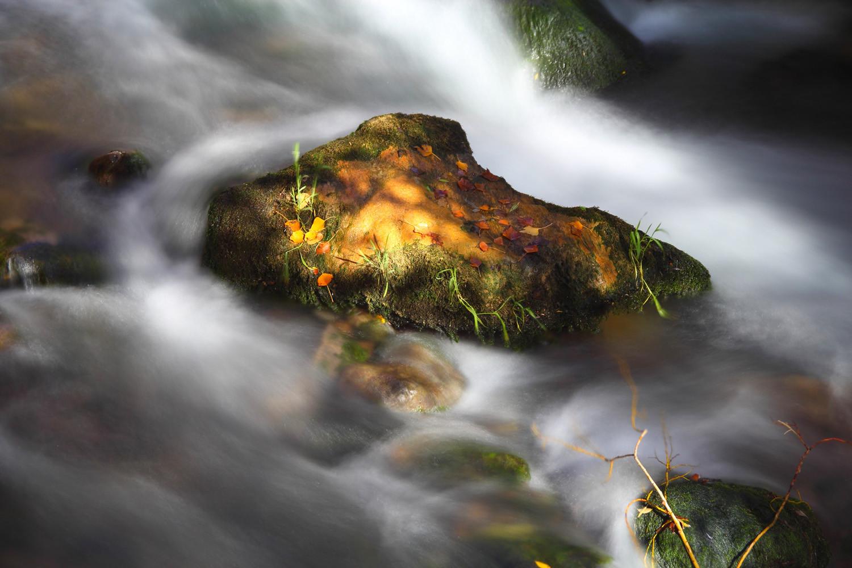 A river rock