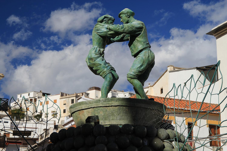 The Statue in Torbizcón