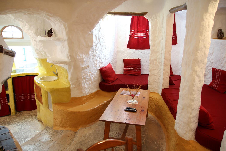 A Cave Living Room