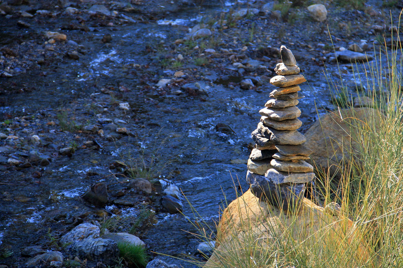 A Marking of a Hiking Trail (Sierra Nevada)