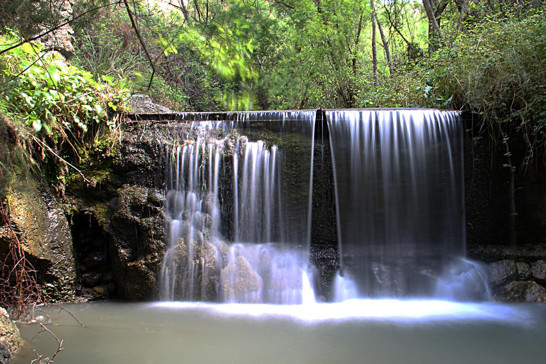 Waterfall River Dúrcal (Sierra Nevada)