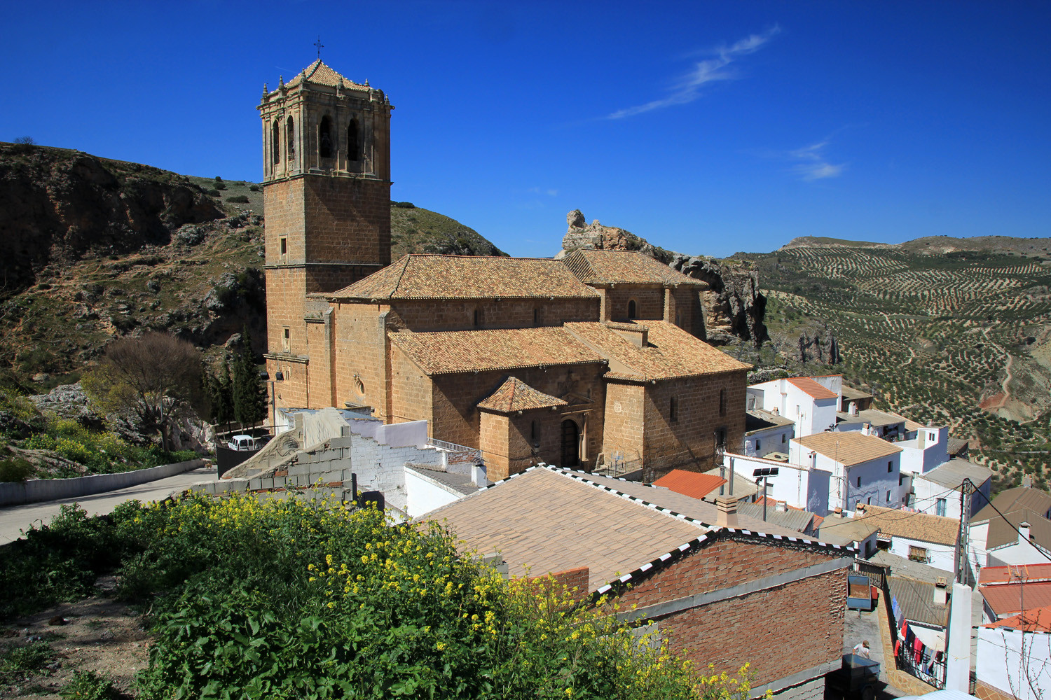 The Church of Colomera