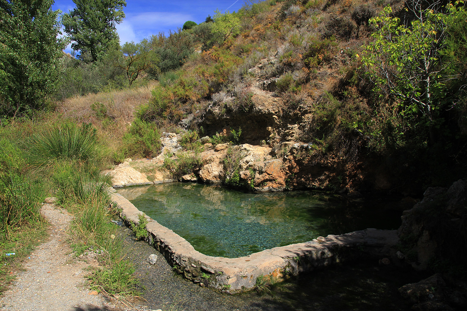 Natural Hotspring (Dúrcal)