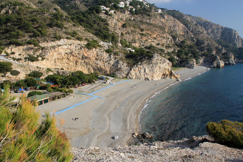 Nudist Beach Playa Cantarijan - Almuñecar
