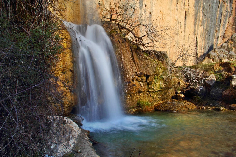 Waterfall; Cascada de la Magdalena - NP Sierra de Castril