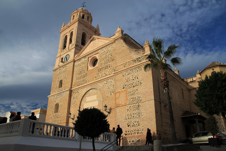 The Church of Almuñecar